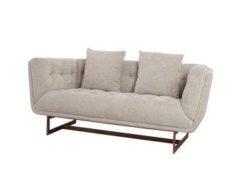 Seville 2 Seat Sofa, Natural
