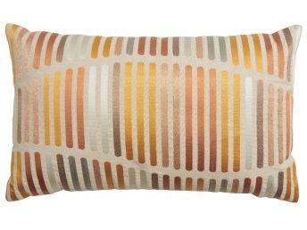 Okar Stripes Cushion Cover, 50x30cm