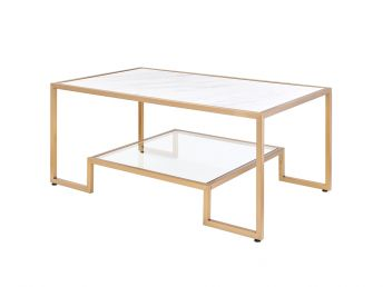 Podium Marble Coffee Table