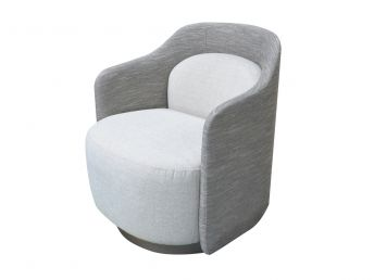 Deneb Swivel Chair, Two Tone