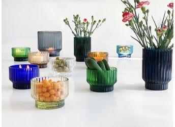 Volta Mini Vase, Green
