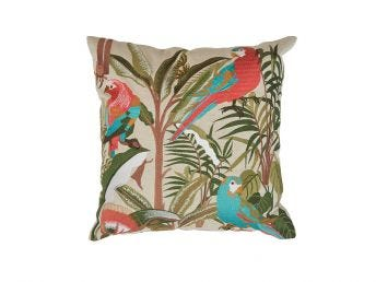 Parrot Forest Cushion Cover, 50x50cm