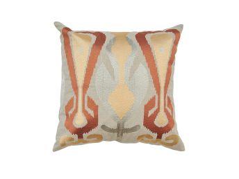 Pyramid Ikat Cushion Cover, Monarch 50x50cm