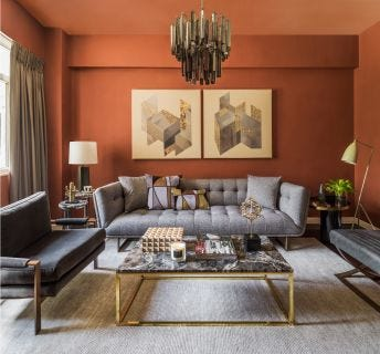Seville 3 Seat Sofa, Grey