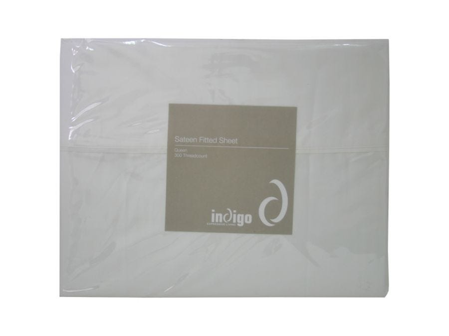 King Sateen Fitted Sheet