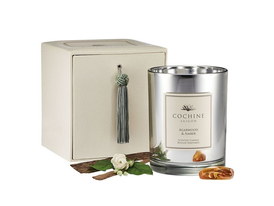 Agerwood & Amber Candle