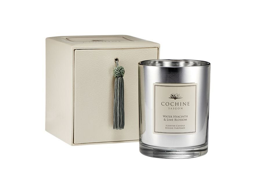 Water Hyacinth & Lime Candle