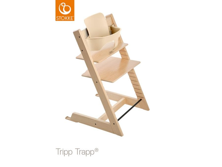 Trip Trapp Baby Set With Extended Glider Natural