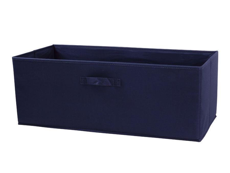 Canvas Box Navy Medium