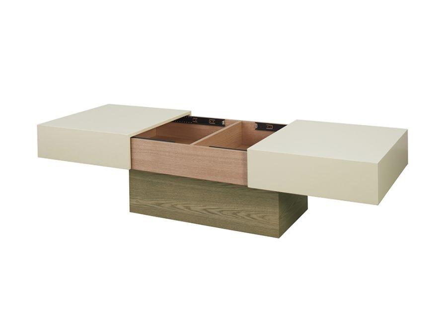 Capri Coffee Table, Storage Rectangular