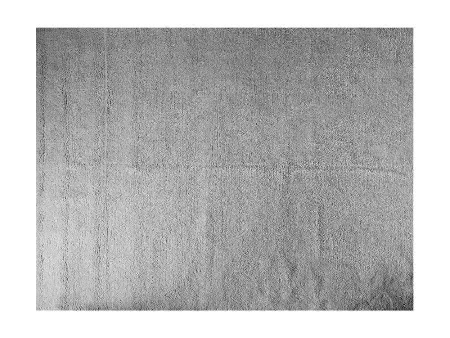 Soft Shaggy Rug, Light Grey 8x10