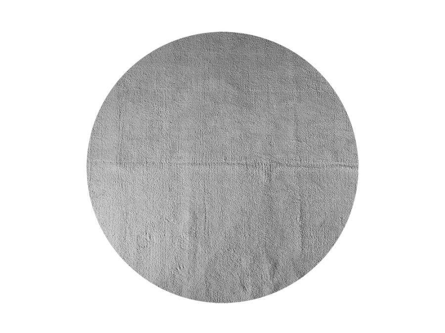 Soft Shaggy Rd Rug 2M - L.Grey