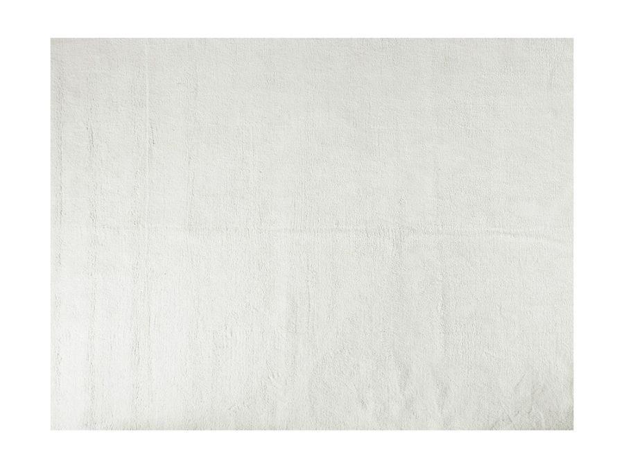 Soft Shaggy Rug, White 6x9