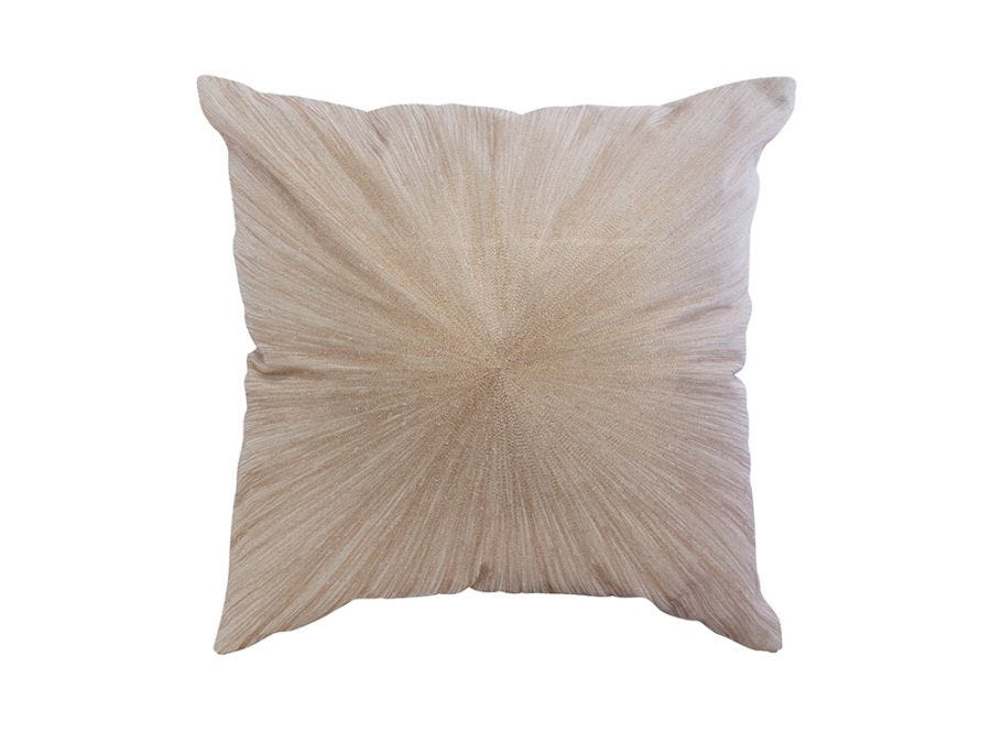 Bronze Starburst Cushion Cover