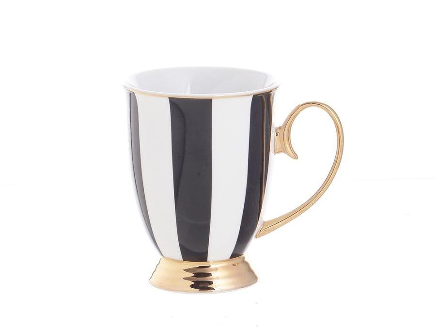Ebony Stripe Mug