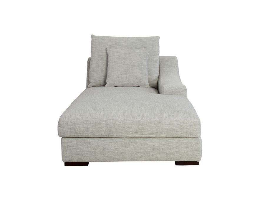 Genoa  Chaise Right Arm, Sand