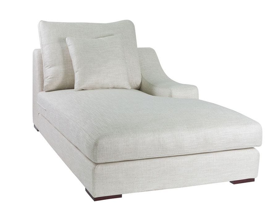 Genoa Chaise Right Arm, Oat