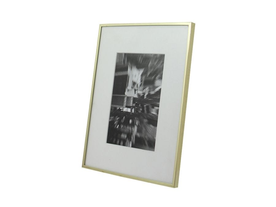"Chloe Gold Frame 5x7"""