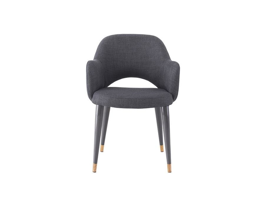 Belvedere Chair, Charcoal