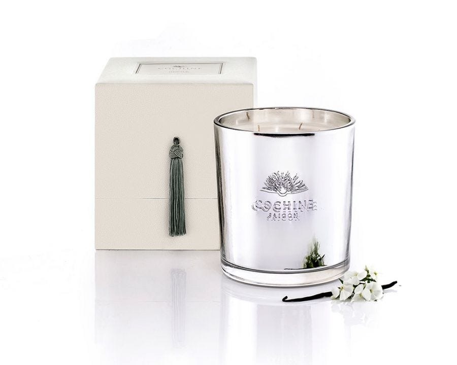 Vanille & Tabac Noir 4 Wick Candle