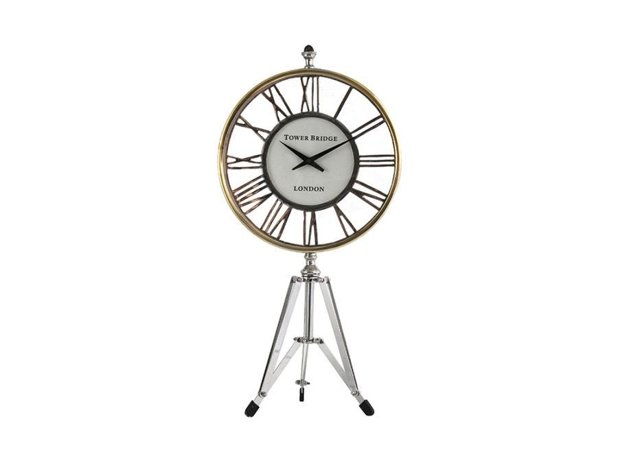 Indigo Standing Clock