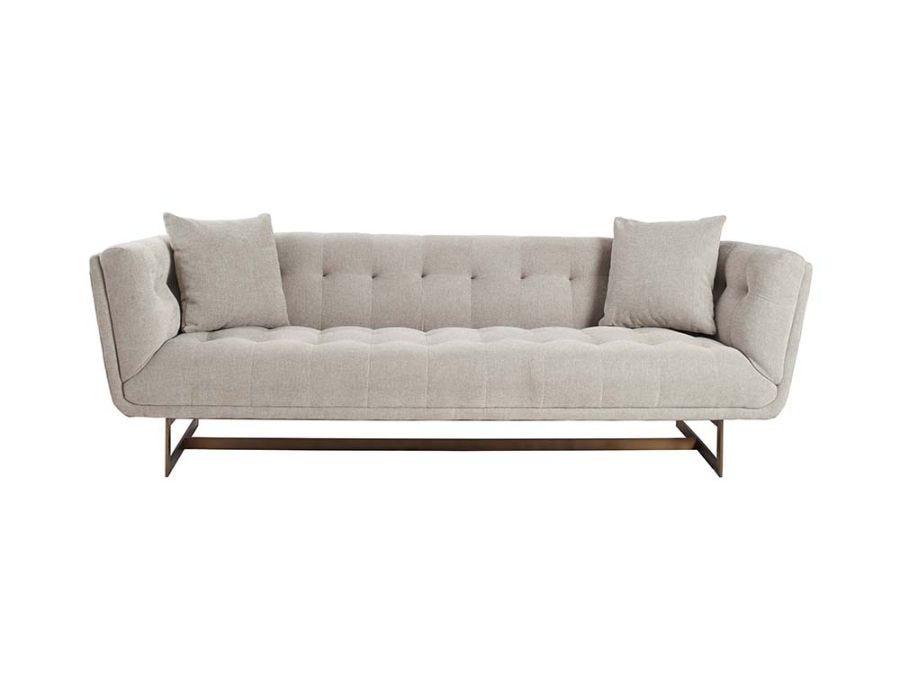 Seville 3 Seat Sofa, Natural