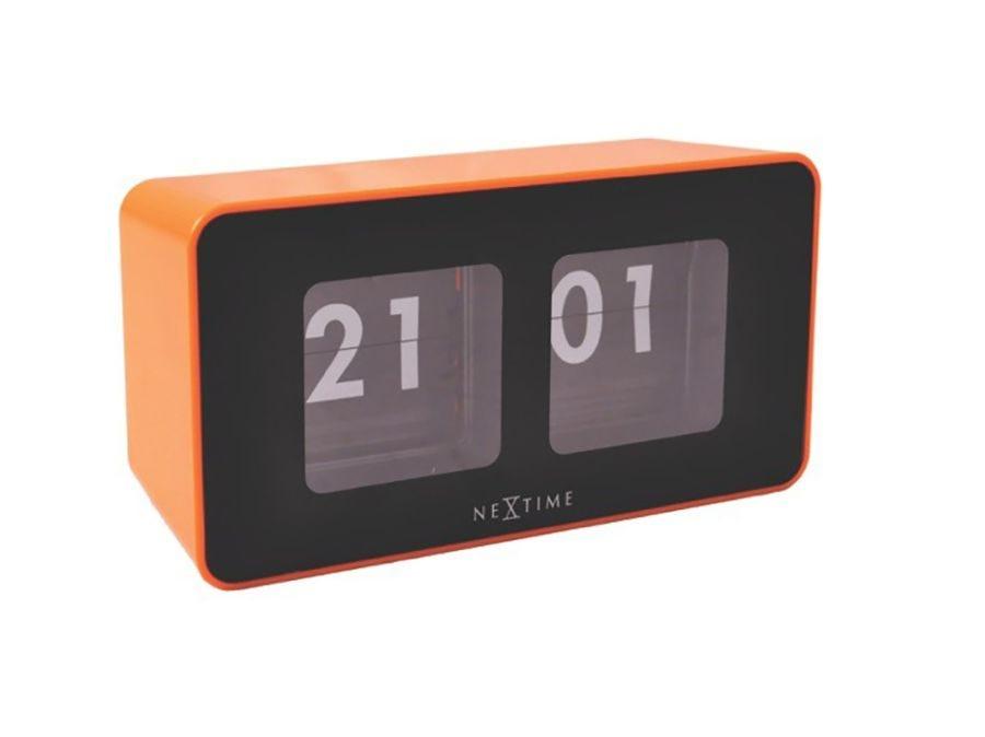Flip Clock - Orange