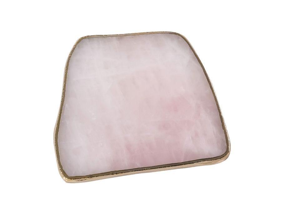 Rose Quartz Plate