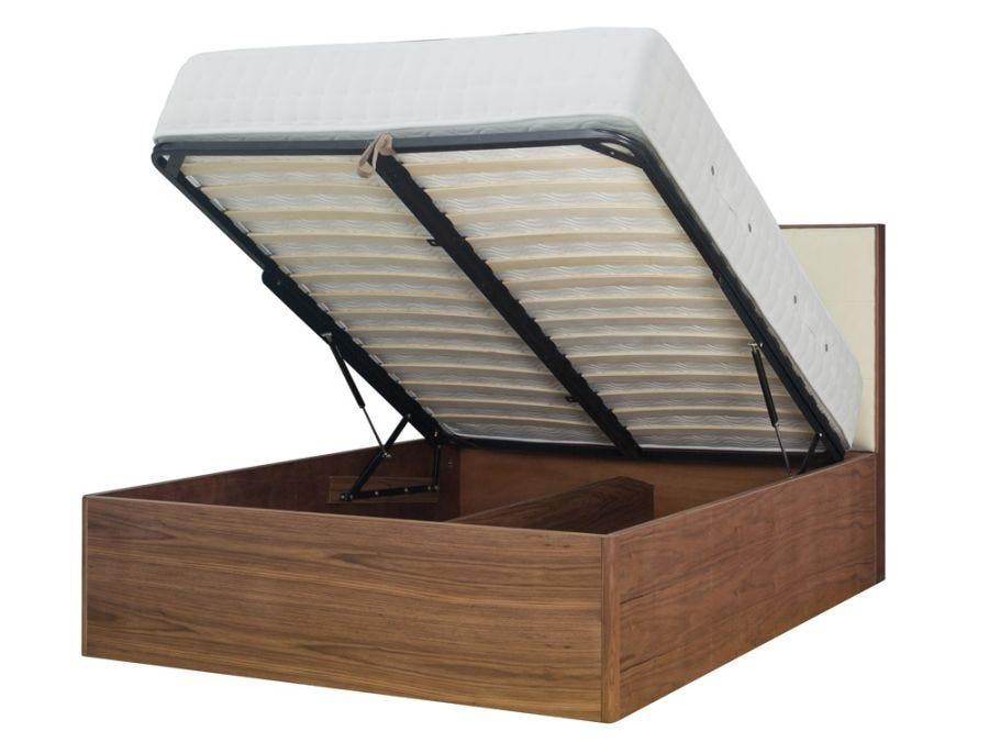 Soho Pan Deep Storage Bed, Upholstered King