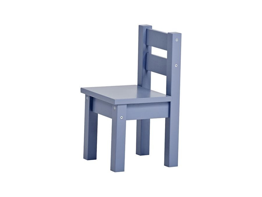 Luna Chair, Dusted Blue