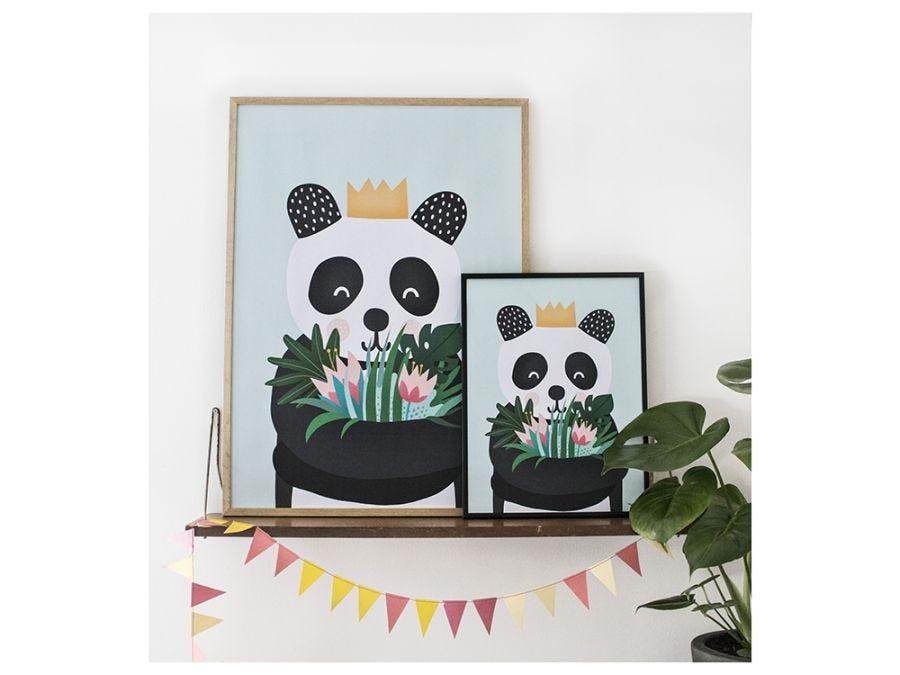 Panda Poster With Hanger