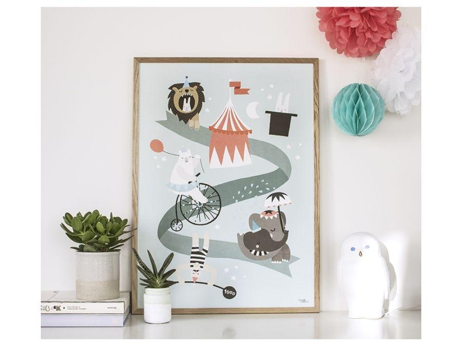 Circus Poster - L