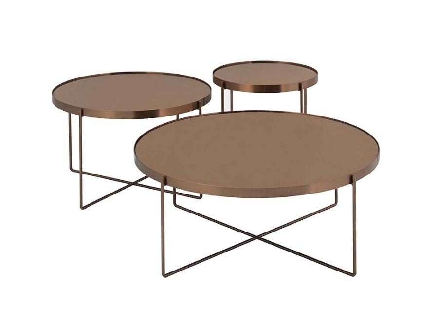 Felix Mirror Coffee Table, Large