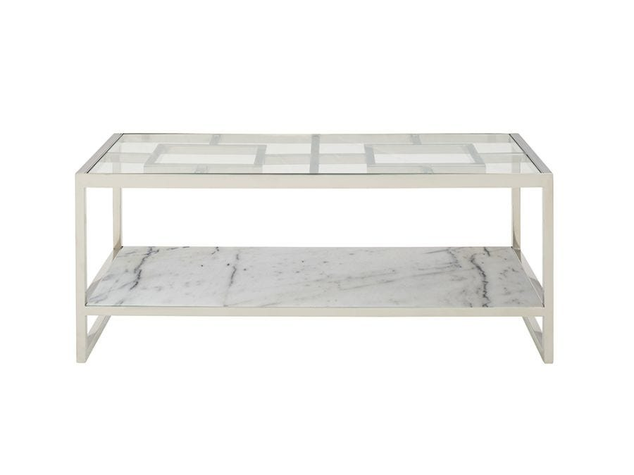 Infinity Coffee Table, Silver