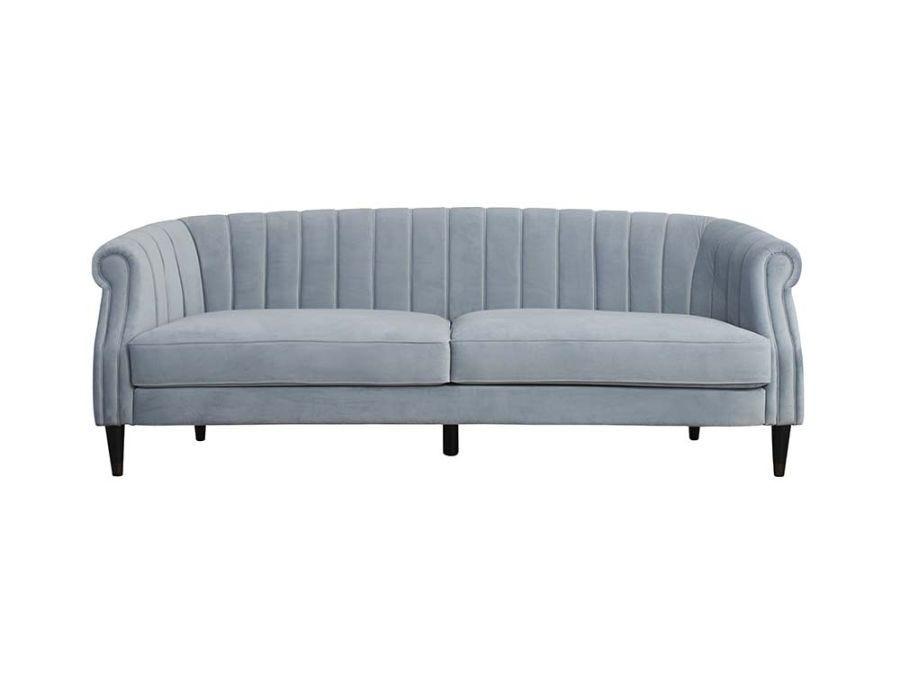Audrey 3 Seat Sofa, Pale Blue