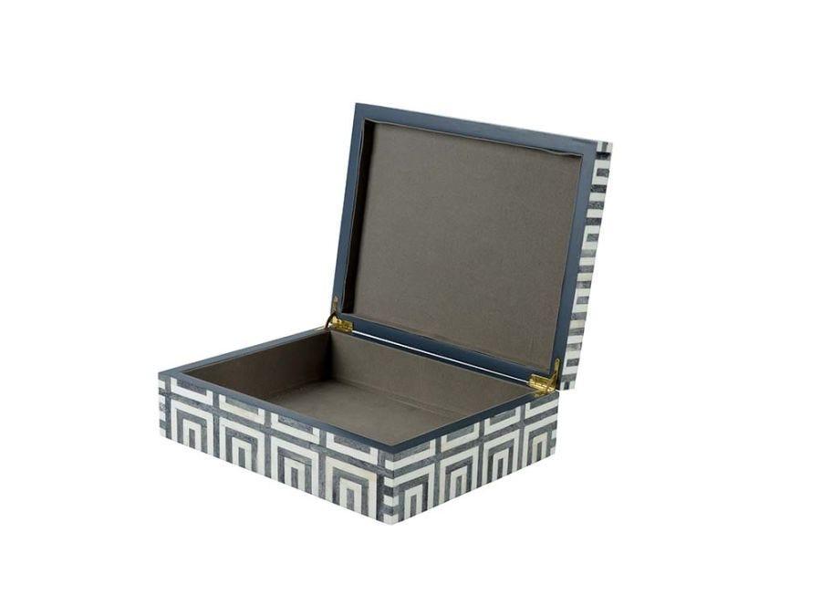 Metria Bone Inlay Box - Large