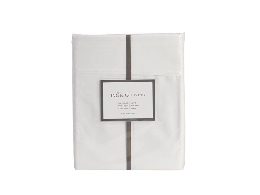 Sateen Flat Sheet - Queen