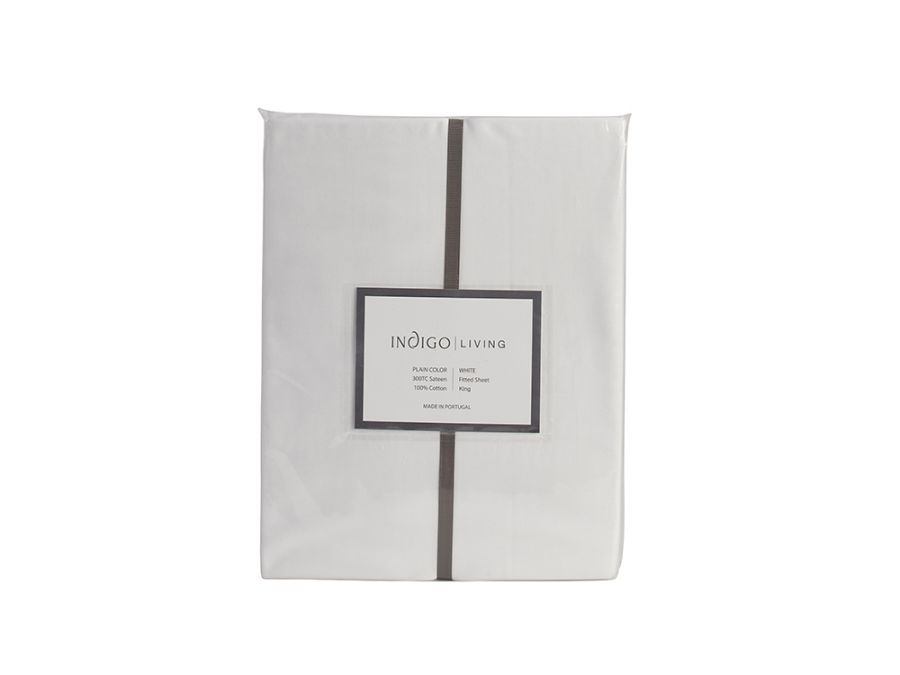 Sateen Fitted Sheet - King
