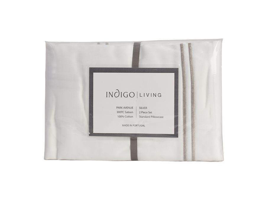 Silver PA Pillowcase Set of 2