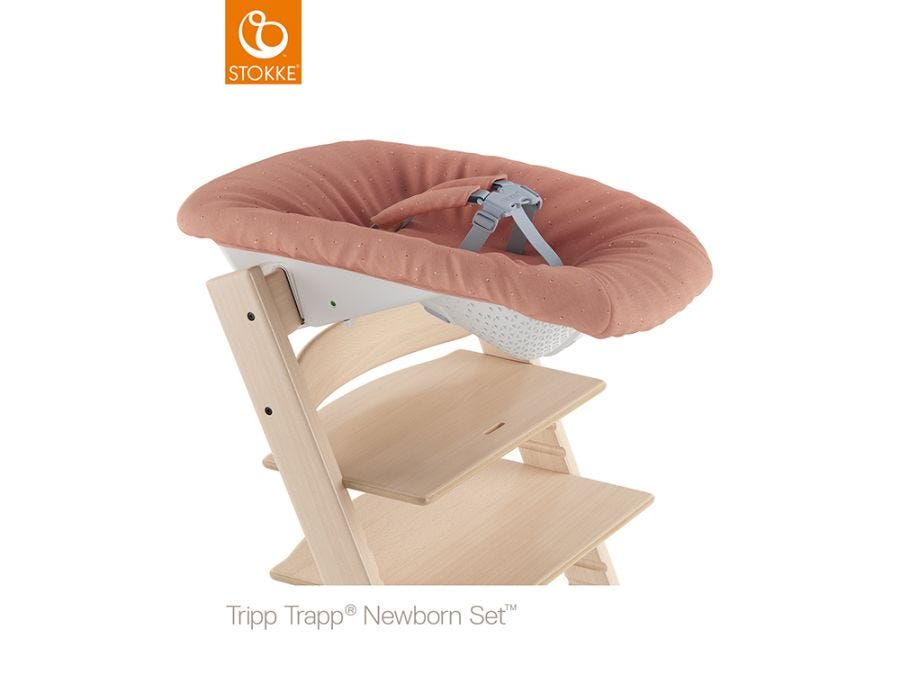 Tripp Trapp New Born Set, Coral