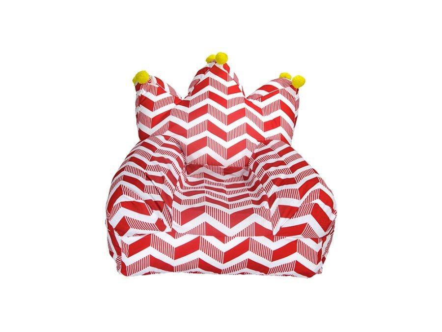Crown Bean Bag - Red