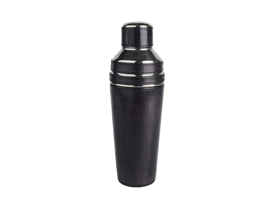 Leather Cocktail Shaker Large
