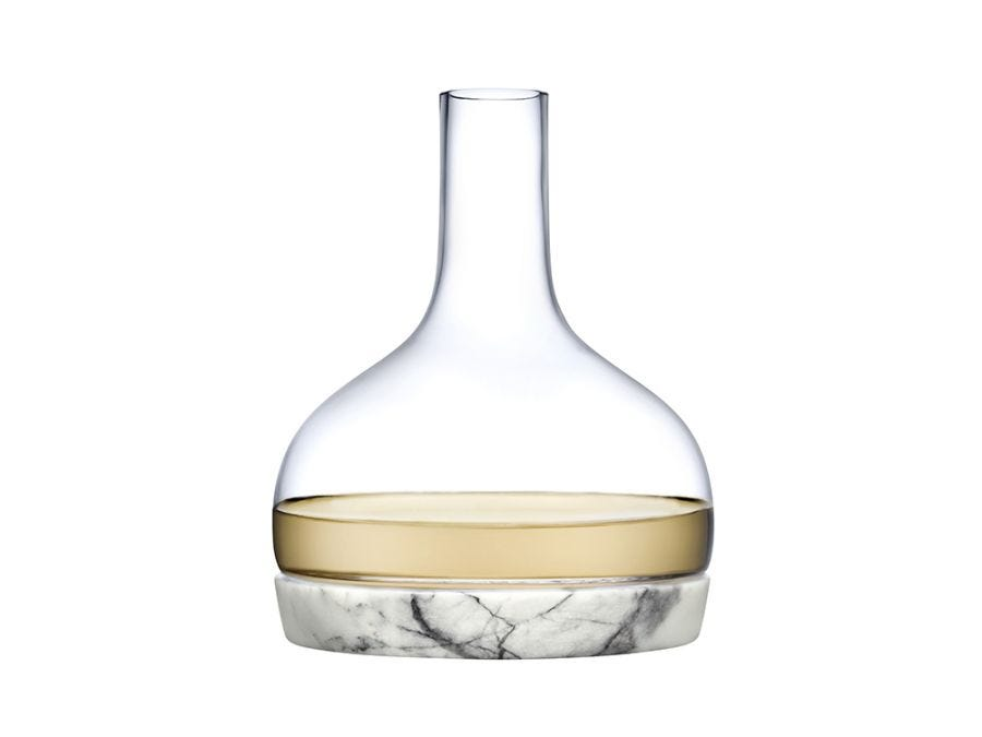 Marble Glass Decanter
