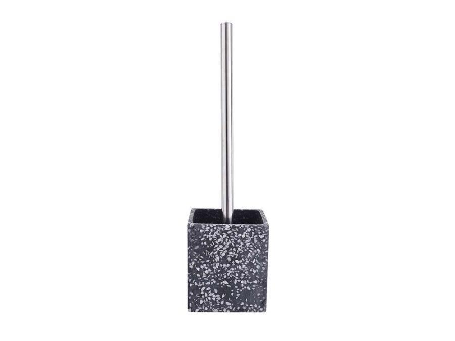 Terrazzo Brush Holder Black