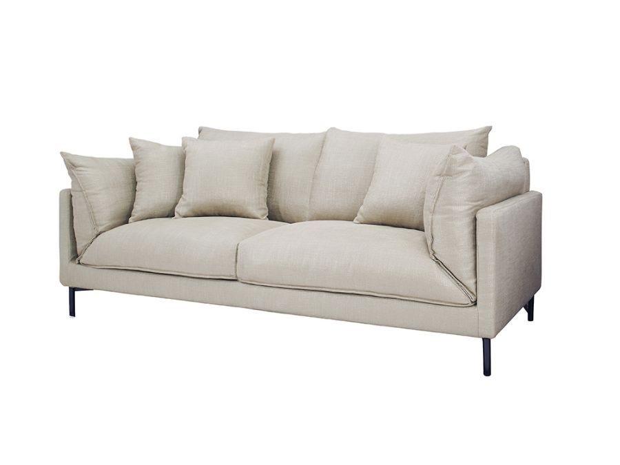 Julian 3 Seat Sofa, Oat