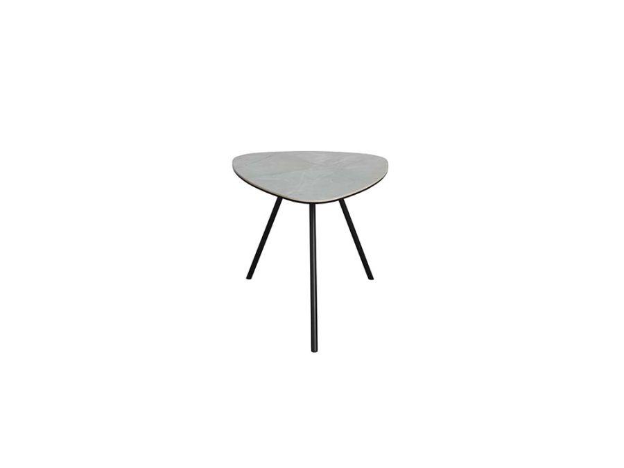 Pebble Coffee Table, White