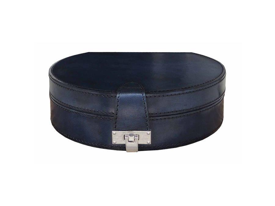 Prussian Leather Jewellery Box