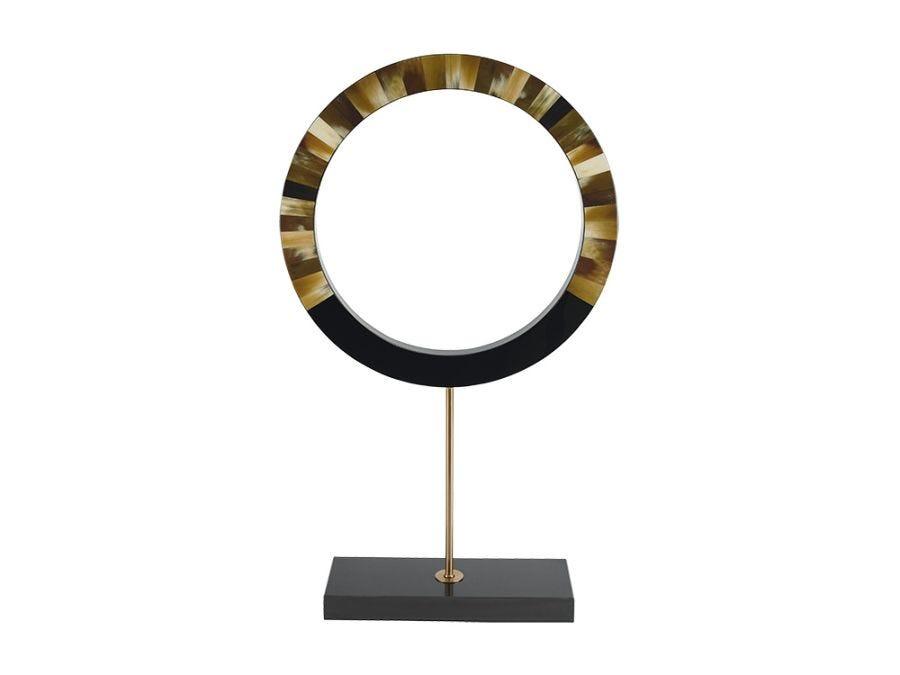 Locco Round Sculpture, High
