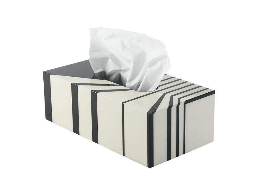 Telford Lacquer Tissue Box