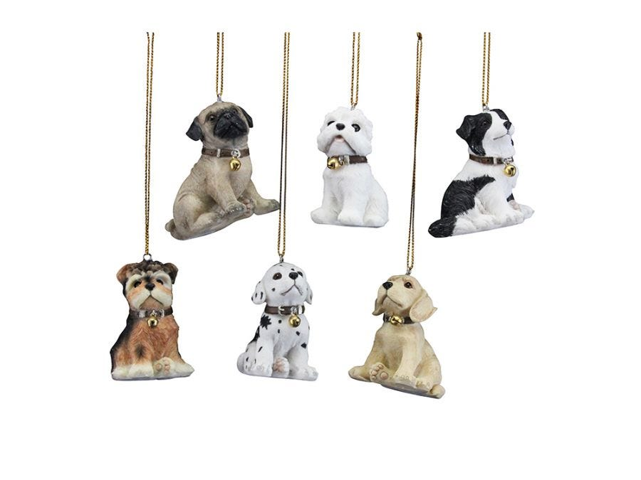 Cute Puppy Decoration Assorted